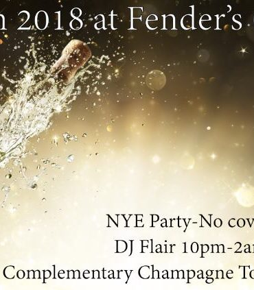 2018 NYE Party with DJ Flair